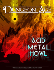 Cover of Acid Metal Howl