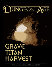 Cover of Grave Titan Harvest