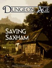 Cover of Saving Saxham