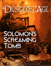 Cover of Solomon's Screaming Tomb