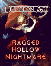 Cover of Ragged Hollow Nightmare